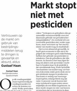 gustaaf markt pesticiden