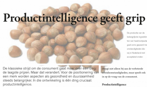 productintelligence geeft grip